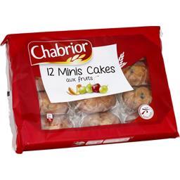 Minis cakes aux fruits