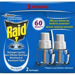 Recharge diffuseur électrique liquide moustiques 60 ...
