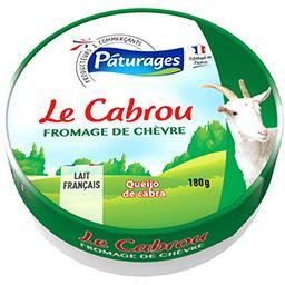 Pâturages Fromage de chèvre Le Cabrou le fromage de 180 g
