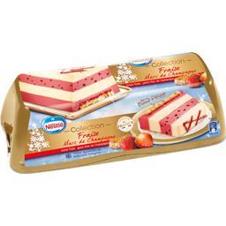 Nestlé Collection - Bûche glacée fraise Marc de Champagne la boite de 455 g