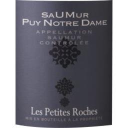 Saumur Puy Notre Dame, vin blanc