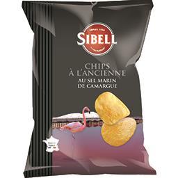 Chips à l'ancienne au sel marin de Camargue
