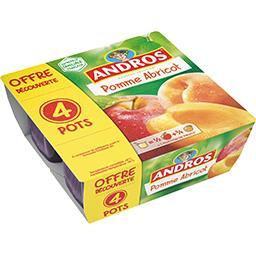 Dessert fruitier pomme-abricot