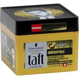 Taft - Power gel Irrésistible fixation 8