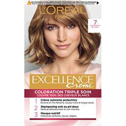 Excellence Crème - Crème colorante permanente Blond ...