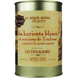 Les Haricots Blancs et Saucisses de Toulouse sauce tomate