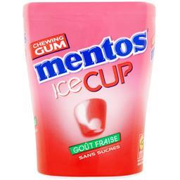 Ice Cup - Chewing-gum goût fraise sans sucres