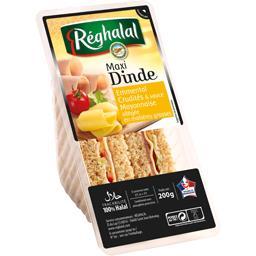 Sandwichs maxi dinde emmental crudités & mayonnaise halal