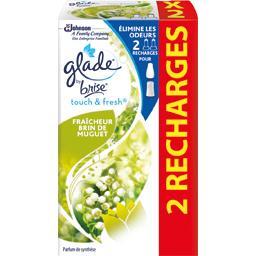 Glade Touch & Fresh - Recharges diffuseur fraîcheur brin de muguet les de 10 ml
