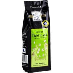 Café moulu saveur tropicale parfumé et généreux