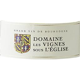 Montagny Domaine Les Vignes Sous l'Eglise vin Blanc ...