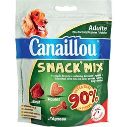 Croquettes Snack'Mix chien adulte riche en viande