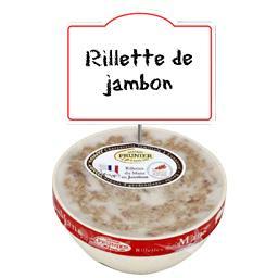 Rillette tradition au jambon au sel de l'Île de Ré