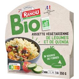 BIO - Assiette végétarienne de légumes et de quinoa