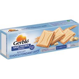 Biscuit choco fondant blanc sans sucres ajoutés
