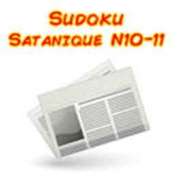 Sudoku satanic niveau 10/11