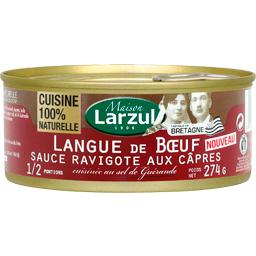 Langue de bœuf sauce ravigote aux câpres