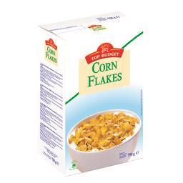 Top Budget Corn Flakes la boite de 750 g