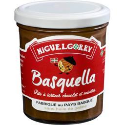 Pâte à tartiner Basquella chocolat noisette