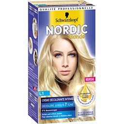 Nordic Blonde - Crème décolorante intense L1, cheveu...
