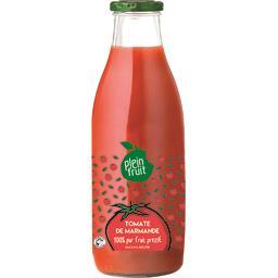 Jus de tomate de Marmande 100% pur fruit pressé