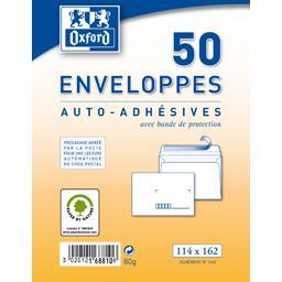Enveloppes auto-adhésive 114x160 80 g