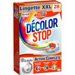 Eau Ecarlate Décolore Stop Classique Pack de 28 Lingettes Taille XXL - Lot de 3