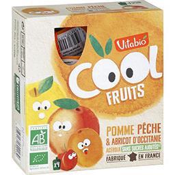 Cool fruits BIO pommes, pêches abricots et acérola