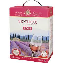 Expert Club Ventoux, vin rosé la fontaine de 5 l
