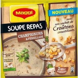 Maggi Soupe repas champignons & persillade le sachet de 70 g