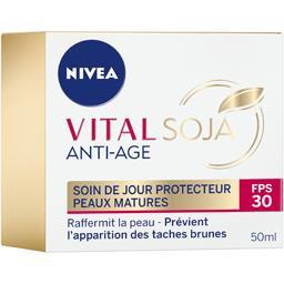 Nivea Vital Soja - Soin de jour protecteur Anti-âge peaux ... le pot de 50 ml