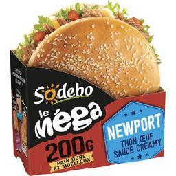 Le Mega - Sandwich Newport thon œuf sauce Creamy