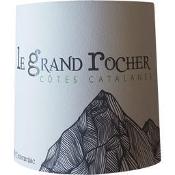 Côtes catanes blanc, vin blanc du roussillon