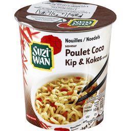 Nouilles saveur poulet coco