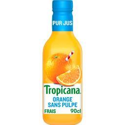Pur jus orange sans pulpe