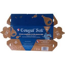 Congel'Sak Sacs de congélation de très grande taille XL la boite de 20 sacs