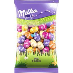 Milka Œufs en chocolat Mix 5 goûts