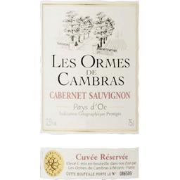 Vin de pays d'Oc Cabernet Sauvignon