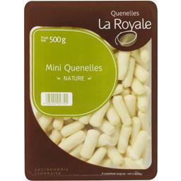 La Royale Mini quenelles nature la barquette de 500 g