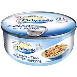 Salade au thon méditerranéenne