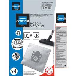 Sacs aspirateurs DOM-08 compatibles Bosch, Siemens