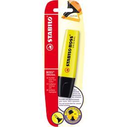 Surligneur rechargeable jaune