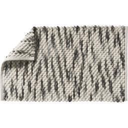 Tapis de bain microfibre chenille Gaby 50x80 cm gris