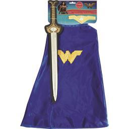 Habille jeu d'accessoires Wonder Woman 4-6 tailles