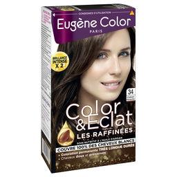 Les Raffinés - Coloration châtain noisette 34