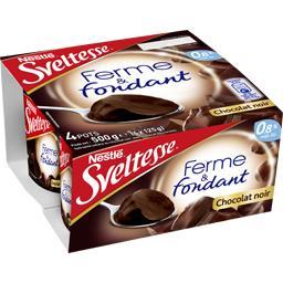 Ferme & Fondant - Spécialité laitière chocolat noir