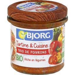 Trio de poivrons Tartine & Cuisine BIO
