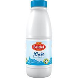 Bridel Lait demi-écrémé la bouteille de 1 l