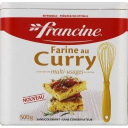 Farine au curry
