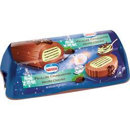 Nestlé Bûche glacée feuilles craquantes menthe chocolat la boite de 540 g